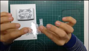 Como estampar sellos acrilicos